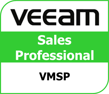 vmsp sales professional certificate