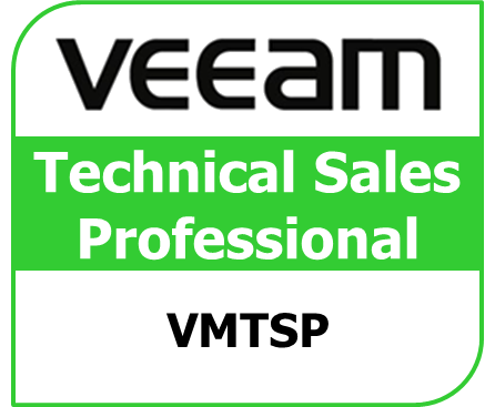 vmsp technical sales professional certificate